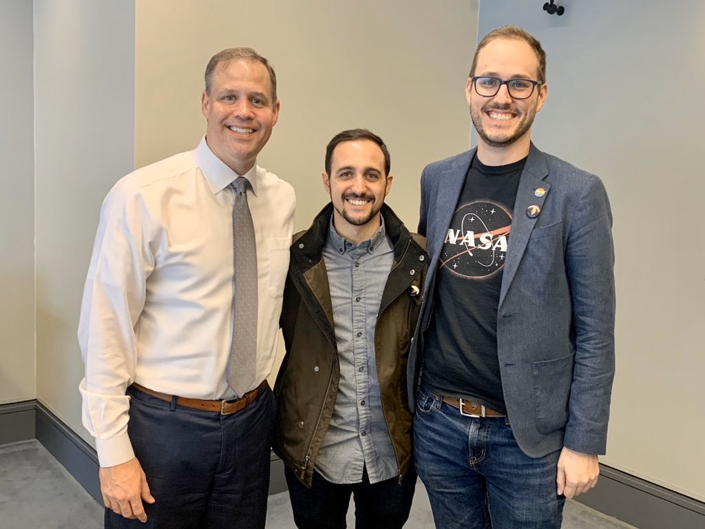 Jake and Anthony have a very real meeting with NASA Administrator Jim Bridenstine.
