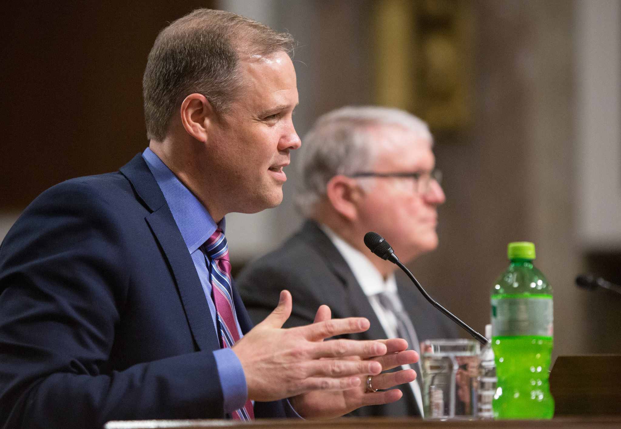 Jim Bridenstine, powered by Mountain Dew