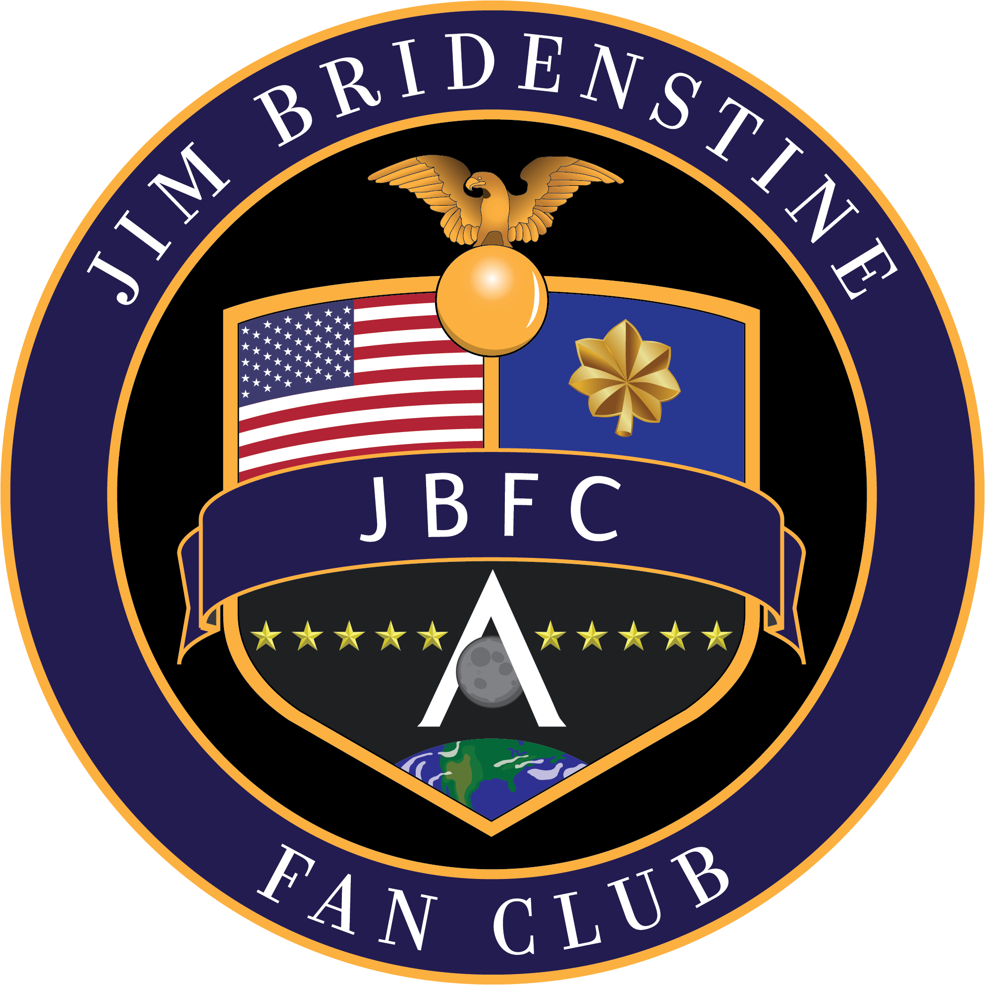 Jim Bridenstine Fan Club Crest